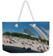 Chicago City Scenes Weekender Tote Bag