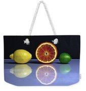 Citrus Fruits Weekender Tote Bag by Joana Kruse