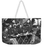 Civil War Soldiers Weekender Tote Bag