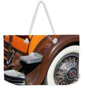 Classic Antique Car- Detail Weekender Tote Bag