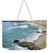 Coast Of Pacific Ocean In Canada Weekender Tote Bag
