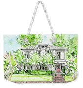 Custom House Rendering Weekender Tote Bag