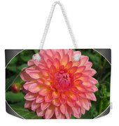 Dahlia Named Hillcrest Suffusion Weekender Tote Bag