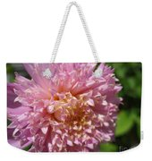 Dahlia Named Siemen Doorenbosch Weekender Tote Bag