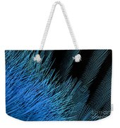 Eastern Bluebird Feathers Weekender Tote Bag