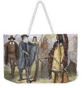 Edward Winslow (1595-1655) Weekender Tote Bag