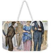 Election Cartoon, 1877 Weekender Tote Bag