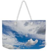 English Summer Sky Weekender Tote Bag