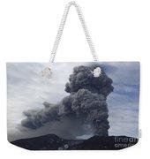 Eyjafjallajökull Eruption, Iceland Weekender Tote Bag