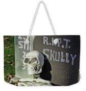 Fall  Halloween On Tillson Street Weekender Tote Bag