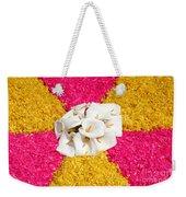 Flower Carpet Weekender Tote Bag