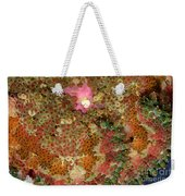 Fluorescent Sea Anemone Weekender Tote Bag