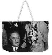 Franklin D. Roosevelt Weekender Tote Bag