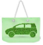 Green Car Weekender Tote Bag
