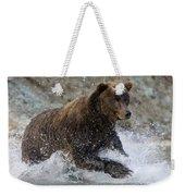 Grizzly Bear Ursus Arctos Horribilis Weekender Tote Bag