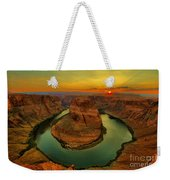 Horseshoe Bend Weekender Tote Bag