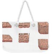 Illustration Of Epithelium Types Weekender Tote Bag
