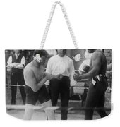 Jack Johnson (1878-1946) Weekender Tote Bag