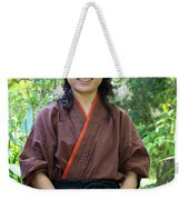 Japanese Women Weekender Tote Bag