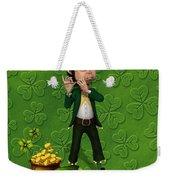 Leprechaun Painting Weekender Tote Bag