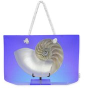 Logarithmic Spiral Weekender Tote Bag by Photo Researchers, Inc.