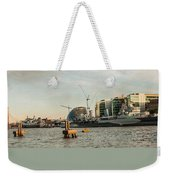 London Skyline Sunset Weekender Tote Bag