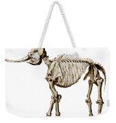 Mastodon Skeleton Weekender Tote Bag by Science Source