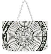 Medieval Zodiac Weekender Tote Bag by Science Source