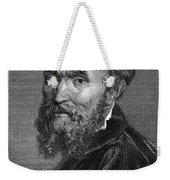 Michelangelo (1475-1564) Weekender Tote Bag by Granger