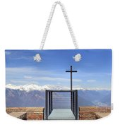 Monte Tamaro Weekender Tote Bag by Joana Kruse