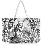 Mother Goose, 1833 Weekender Tote Bag