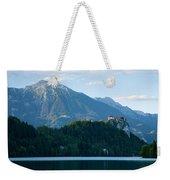 Mountain Backdrop Weekender Tote Bag