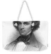 Nathaniel Hawthorne, American Author Weekender Tote Bag by Photo Researchers