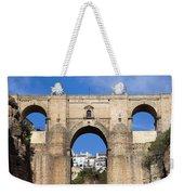New Bridge In Ronda Weekender Tote Bag