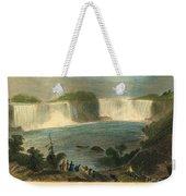 Niagara Falls, 1837 Weekender Tote Bag
