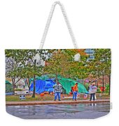 Occupy Buffalo Weekender Tote Bag