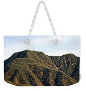 Ojai Valley With Snow Weekender Tote Bag