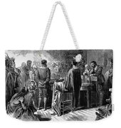 Pilgrims: Thanksgiving, 1621 Weekender Tote Bag
