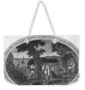Poor Richard Illustrated Weekender Tote Bag by Granger