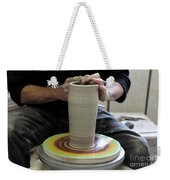 Pottery Wheel, Sequence Weekender Tote Bag