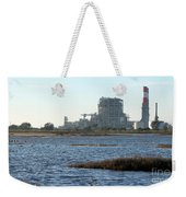 Power Station Weekender Tote Bag by Henrik Lehnerer