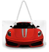 Red Ferrari F430 Scuderia Weekender Tote Bag