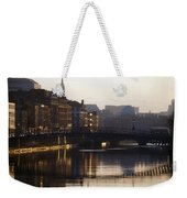 River Liffey, Dublin, Co Dublin, Ireland Weekender Tote Bag