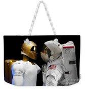 Robonaut 2, A Dexterous, Humanoid Weekender Tote Bag by Stocktrek Images