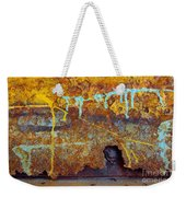 Rust Colors Weekender Tote Bag