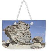 Sarakiniko White Tuff Formations Weekender Tote Bag