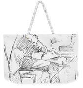Sergei Rachmaninoff Weekender Tote Bag