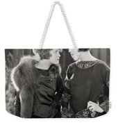 Silent Film Still: Women Weekender Tote Bag