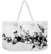 Silent Still: Beach Weekender Tote Bag