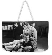 Silent Still: Children Weekender Tote Bag